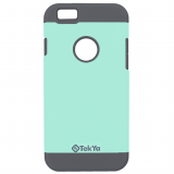 Apple iPhone 6/6s TekYa Vega Series Case - Mint/Gray