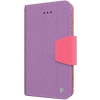 Apple iPhone 6/6s Beyond Cell Infolio Leather Case - Purple/Pink