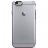 Apple iPhone 6/6s PureGear Slim Shell Pro Case - Clear/Pink