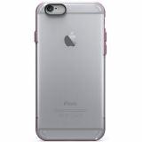 Apple iPhone 6 Plus/6s Plus PureGear Slim Shell Pro Case - Clear/Pink