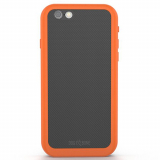 Apple iPhone 6/6s Dog & Bone Wetsuit IMPACT Waterproof Case - Electric Orange