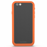 Apple iPhone 6 Plus/6s Plus Dog & Bone Wetsuit IMPACT Waterproof Case - Electric Orange