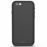 Apple iPhone 6 Plus/6s Plus Dog & Bone Wetsuit IMPACT Waterproof Case - Blackest Black