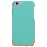 Apple iPhone 6/6s Skech Hard Rubber Mix Series Case - Aqua/Champagne