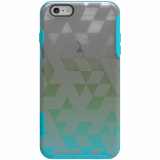 Apple iPhone 6 Plus/6s Plus M-Edge Glimpse Series Case - Triparty Aqua