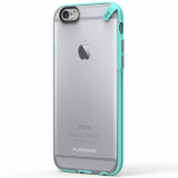 Apple iPhone 6/6s PureGear Slim Shell Case - Clear/Mint
