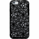 Apple iPhone 6/6s M-Edge Glimpse Series Case - Black Lace
