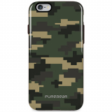 Apple iPhone 6/6s PureGear Motif Series Case - Green Camouflage