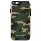 Apple iPhone 6 Plus/6s Plus PureGear Motif Series Case - Green Camouflage