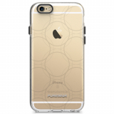 Apple iPhone 6/6s PureGear Motif Series Case - Clear/Gray Ball Bearings