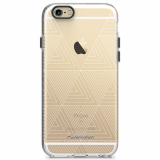 Apple iPhone 6/6s PureGear Motif Series Case - Clear/White Tribal