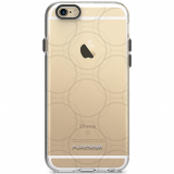 Apple iPhone 6 Plus/6s Plus PureGear Motif Series Case - Clear/Gray Ball Bearings