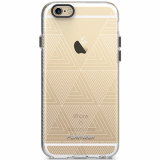 Apple iPhone 6 Plus/6s Plus PureGear Motif Series Case - Clear/White Tribal