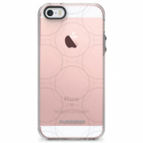 Apple iPhone 5/5s/SE PureGear Motif Series Case - Clear/Gray Ball Bearings