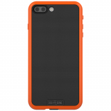 Apple iPhone 7 Plus Dog & Bone Wetsuit Impact Waterproof Case - Electric Orange