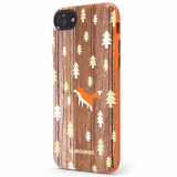 Apple iPhone 7 PureGear Motif Series Case - Wood Fox
