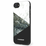 Apple iPhone 7 PureGear Motif Series Case - Stone/Black