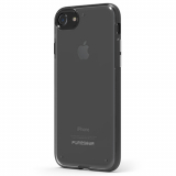 Apple iPhone 7 PureGear Slim Shell Case - Clear/Black