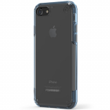 Apple iPhone 8/7 PureGear Slim Shell Pro Case - Clear/Blue