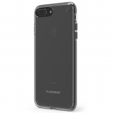 Apple iPhone 8 Plus/7 Plus PureGear Slim Shell Case - Clear/Black