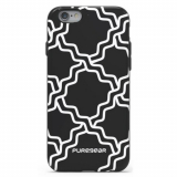 Apple iPhone 6/6s PureGear Motif Series Case - Black/White Chain