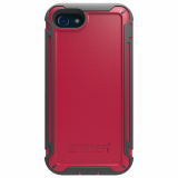Apple iPhone 8/7 Trident Cyclops Case - Red/Black