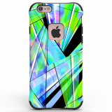 Apple iPhone 6/6s Ballistic Urbanite Select Artist Series Case - Green Prism