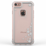 Apple iPhone 7 Ballistic Jewel Essence Series Case - Clear/Silver Dancing Bubbles