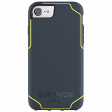 Apple iPhone 7/6s/6 Griffin Survivor Journey Series Case - Denim/Fluorescent Citron