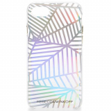 **NEW**Apple iPhone 7 Rebecca Minkoff Double Up Case - Geometric Wall Clear/Holographic Foil