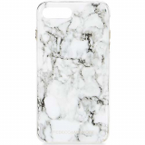 **NEW**Apple iPhone 7 Plus Rebecca Minkoff Double Up Case - Marble Print Silver Foil
