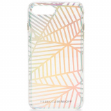 **NEW**Apple iPhone 7 Plus Rebecca Minkoff Double Up Case Geometric Wall Clear/Holographic Foil