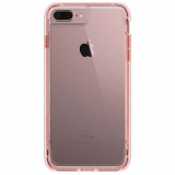 Apple iPhone 8 Plus/7 Plus/6s Plus/6 Plus Griffin Survivor Clear Series Case - Clear/Rose Gold