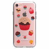 Apple iPhone 8/7/6s/6 PureGear Motif Series Case - Cupcakes