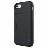 Apple iPhone 7 Incipio Stowaway Case - Black/Black