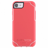 **NEW**Apple iPhone 7/6s/6 Griffin Survivor Strong Series Case - Coral Fire