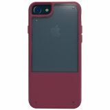 Apple iPhone 8/7/6s/6 Trident Fusion Series Case - Red Plum