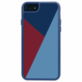 Apple iPhone 8/7/6s/6 Trident Style Series Case - Niagara Blue