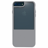 Apple iPhone 8 Plus/ Plus/6s Plus/6 Plus Trident Fusion Series Case - Tin Man Grey