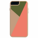Apple iPhone 8 Plus/7 Plus/6s Plus/6 Plus Trident Style Series Case - Hazelnut