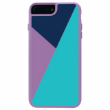 Apple iPhone 8 Plus/7 Plus/6s Plus/6 Plus Trident Style Series Case - Lilac Purple