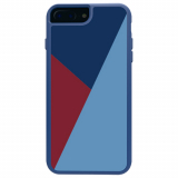 Apple iPhone 8 Plus7 Plus/6s Plus/6 Plus Trident Style Series Case - Niagara Blue