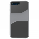Apple iPhone 8 Plus/7 Plus/6s Plus/6 Plus Trident Warrior Series Case - Tin Man Grey