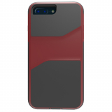 Apple iPhone 8 Plus/7 Plus/6s Plus/6 Plus Trident Warrior Series Case - Crimson Red