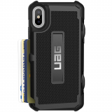 Apple iPhone Xs/X Urban Armor Gear Trooper Card Case (UAG) - Black