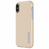 Apple iPhone Xs/X Incipio DualPro Series Case - Iridescent Champagne