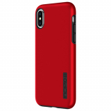 Apple iPhone X Incipio DualPro Series Case - Iridescent Red/Black