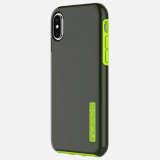 Apple iPhone X Incipio DualPro Series Case - Smoke/Volt