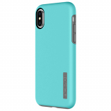Apple iPhone X Incipio DualPro Series Case - Turquoise/Charcoal