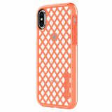 **NEW**Apple iPhone X Incipio DualPro Sport Series Case - Coral/Clear